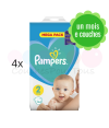 76 COUCHES PAMPERS ACTIVE BABY DRY taille 4