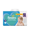 608 COUCHES PAMPERS ACTIVE BABY DRY taille 4