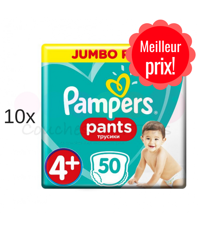 500 COUCHES PAMPERS NEW BABY DRY taille 2