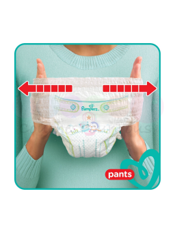 500 COUCHES PAMPERS NEW BABY DRY taille 2 + AR-AL