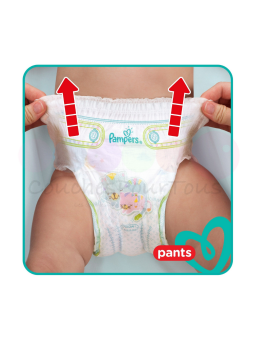 500 COUCHES PAMPERS NEW BABY DRY taille 2 + Biberon Philips AVENT Classique - 330 ml - 3 mois et +