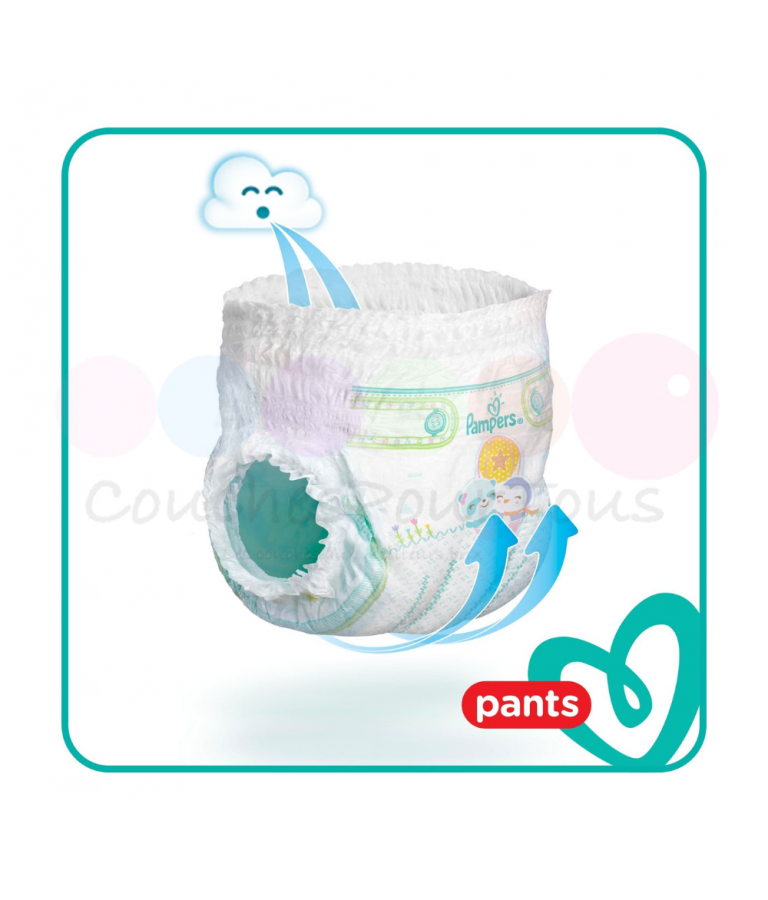 544 COUCHES PAMPERS NEW BABY taille 2
