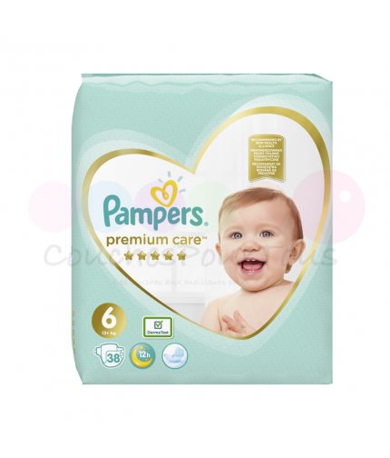 540 COUCHES PAMPERS ACTIVE BABY DRY taille 3