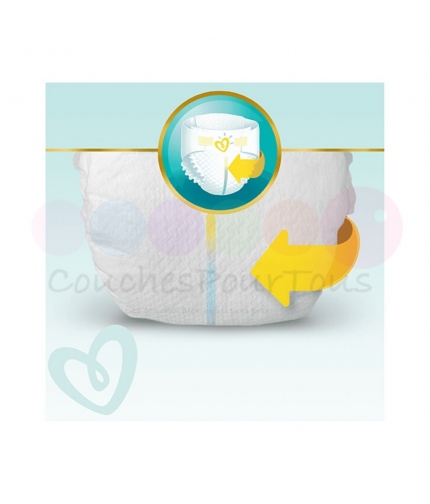350 COUCHES PAMPERS SLEEP&PLAY (SIMPLY DRY) taille 4