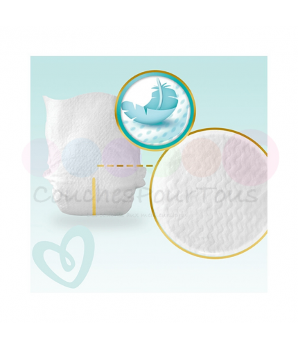 900 COUCHES PAMPERS ACTIVE BABY DRY taille 3