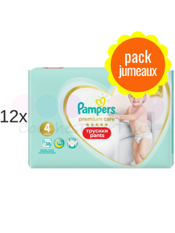 516 couches PAMPERS NEW BABY DRY taille 1 + Lot de 2 biberons Philips AVENT Classic - 260 ml - 1 mois et +