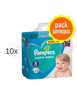 LINGETTES PAMPERS BABY FRESH 4x64